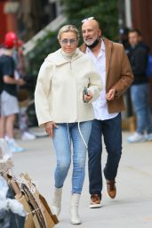 Yolanda Hadid Street Style - New York 05/11/2021