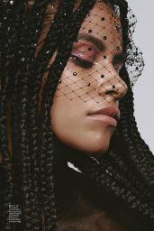 Zazie Beetz - ELLE Magazine April 2021 Issue