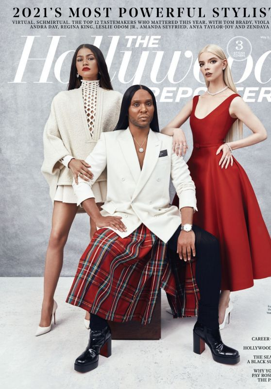 Zendaya and Anya Taylor-Joy - The Hollywood Reporter May 2021 Issue