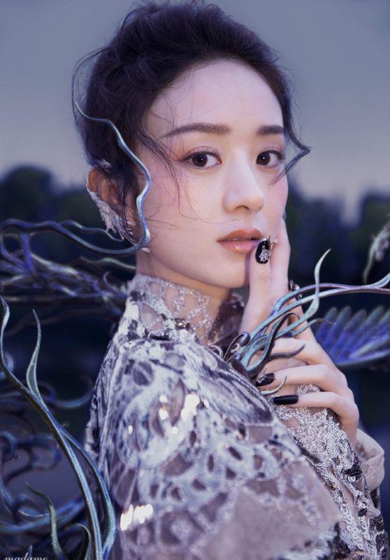 Zhao Liying - Photographed for Madame Figaro Magazine China May 2021