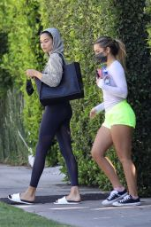Addison Rae and Shanina Shaik - Out in West Hollywood 06/09/2021