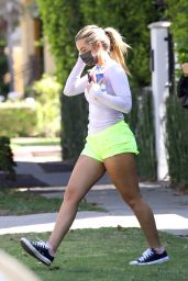 Addison Rae - Leave a Morning Pilates Workout in West Hollywood 06/09/2021