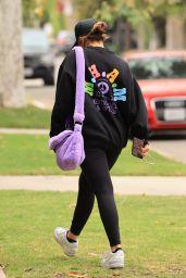 Addison Rae Wearing a Madhappy Black Sweater 05/31/2021