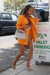 Alessandra Ambrosio at The Ivy in Beverly Hills 06/18/2021