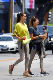 Alessandra Ambrosio in Casual Outfit in Beverly Hills 06/17/2021