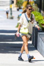 Alessandra Ambrosio Street Style - LA 06/10/2021