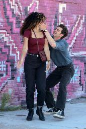 """Alexandra Shipp and Andrew Garfield - """"Tick, Tick... Boom!"""" Set in NY 06/16/2021"""