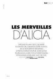Alicia Vikander - ELLE France 06/25/2021 Issue