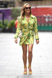 Amanda Holden in a Racy Seventies-Inspired Mini 06/11/2021