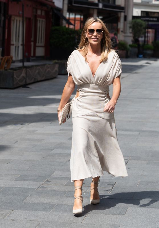 Amanda Holden - Out in London 06/23/2021