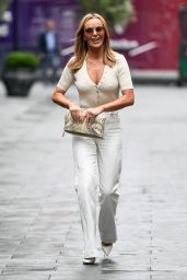 Amanda Holden - Out in London 06/28/2021