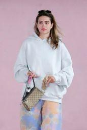 Amelia Hamlin in Trendy Tie Dye - West Hollywood 06/04/2021