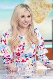 Amy Hart - Good Morning Britain TV Show in London 06/25/2021
