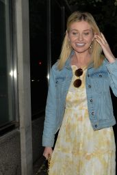 Amy Hart - Leaving Criterion Theatre in London 06/02/2021