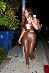 Anastasia Karanikolaou at Poppy in West Hollywood 06/04/2021