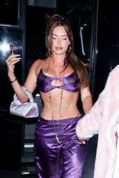 Anastasia Karanikolaou Night Out Style - Los Angeles 06/19/2021