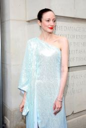 Andrea Riseborough - Alice Curiouser and Curiouser at The Victoria and Albert Museum in London 06/23/2021