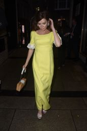 """Anna Friel at """"Safe Spaces"""" Private View and Dinner in London 06/17/2021"""