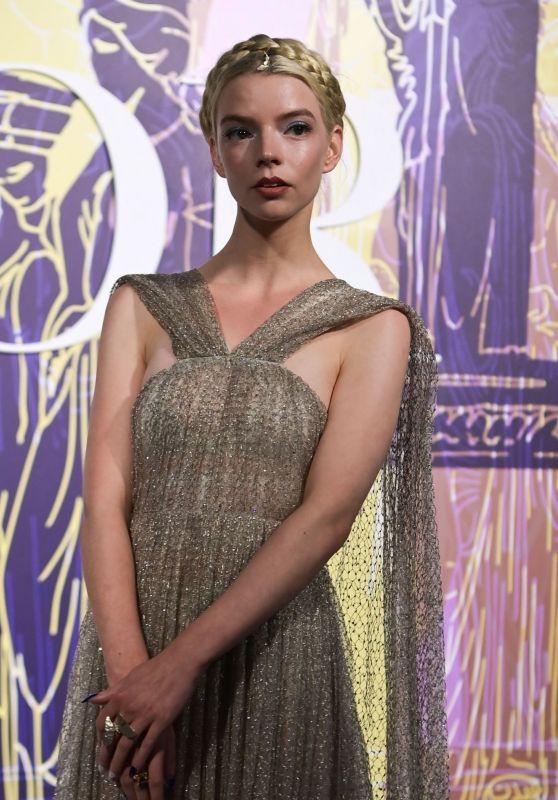 Anya Taylor-Joy - Dior Fashion Show in Athens 06/17/2021