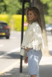 Arabella Chi Seen Photoshoot - South Kensington 06/02/2021