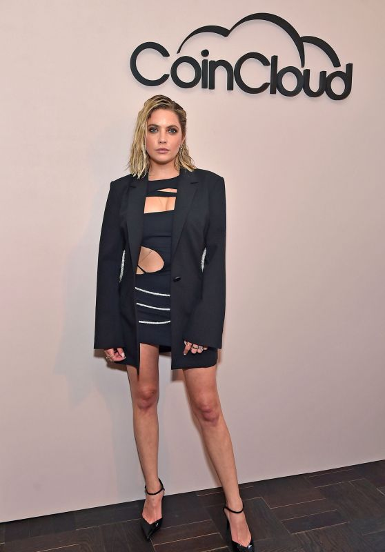 Ashley Benson - Coin Cloud Cocktail Party in LA 06/15/2021