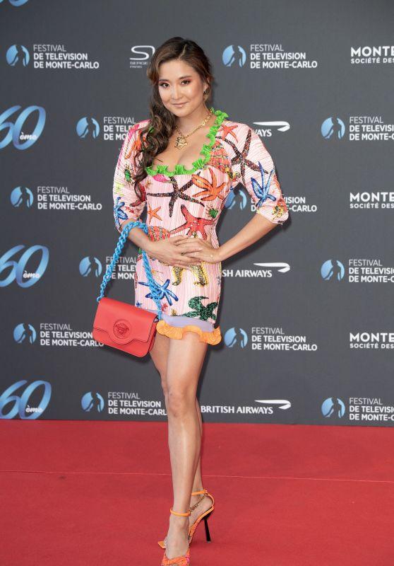 Ashley Park – 60th Monte Carlo TV Festival Opening Ceremony in Monaco 06/18/2021