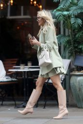 Ashley Roberts and Janette Manrara - Out in Chelsea, London 06/24/2021