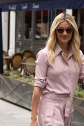 Ashley Roberts in pink Coords - London 06/25/2021