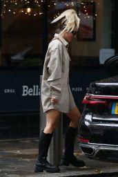 Ashley Roberts - Leaving Global Studios Heart FM in London 06/18/2021