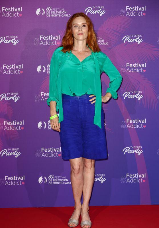 Audrey Fleurot - 60th Monte Carlo TV Festival TV Series Party in Monaco 06/19/2021