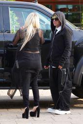 Avril Lavigne and Mod Sun at Soho House Malibu 06/28/2021