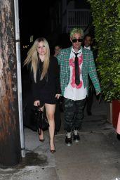 Avril Lavigne at Giorgio Baldi in Santa Monica 06/27/2021