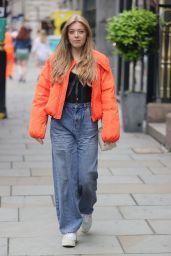 Becky Hill Street Style - London 06/17/2021