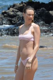 Behati Prinsloo in a Bikini - Beach in Maui 06/06/2021