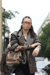 Bella Hadid - Out in Paris 06/24/2021