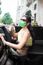 Bella Hadid - Out in Paris 06/26/2021