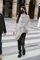 Bella Hadid Street Style - Paris 06/26/2021