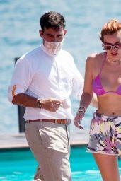 Bella Thorne - Summer Break on Lake Como in Italy 06/25/2021
