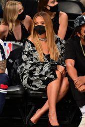 Beyonce - Milwaukee Bucks vs Brooklyn Nets Game in NY 06/05/2021