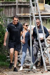 """Billie Faiers - """"Mummy Diaries"""" Spin Off Filming Set in Essex 06/16/2021"""