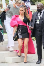 Billie Piper - Exits Hotel Ahead of Red. Story Arrivals at TV BAFTA Awards in London 06/06/2021
