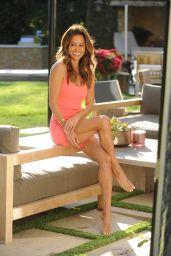 Brooke Burke in Her Backyard - Malibu 06/09/2021