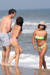 Brooks Nader in a Bikini - Montauk Beach in Hamptons New York 06/05/2021