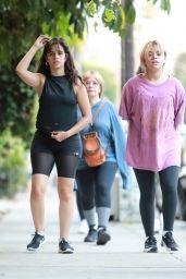 Camila Cabello at Runyon Canyon in LA 06/17/2021