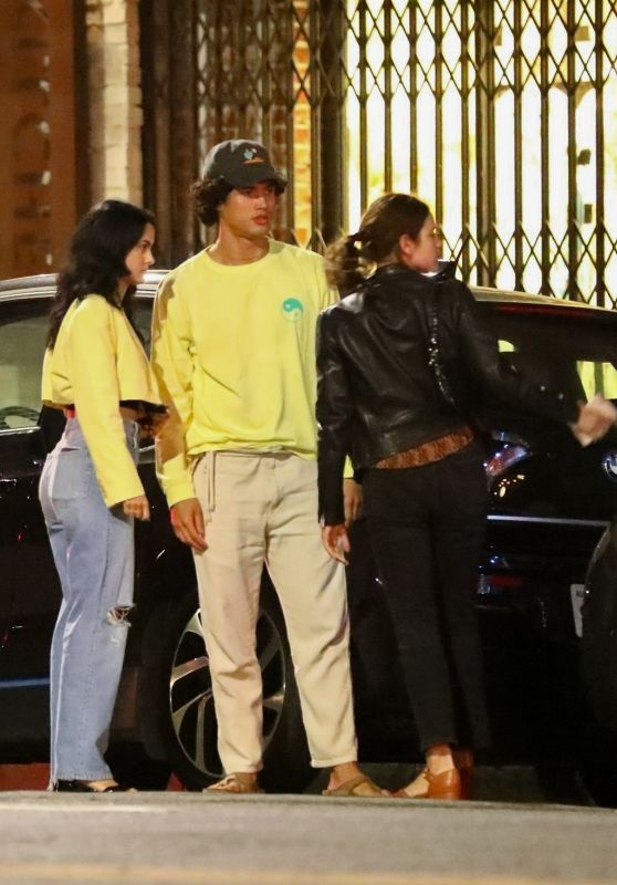 Camila Mendes and Charles Melton - Night Out in Los Angeles 06/05/2021