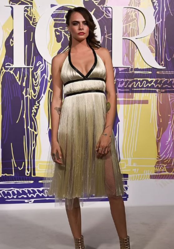 Cara Delevingne - Dior Fashion Show in Athens 06/17/2021