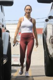 Cara Santana - Leaving the Gym in West Hollywood 06/29/2021