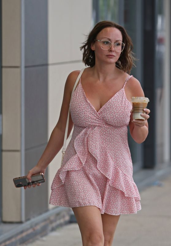 Chanelle Hayes - Out in London 06/21/2021