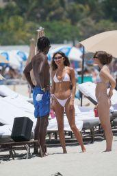 Chantel Jeffries in a White Bikini - Miami Beach 06/05/2021