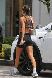Chantel Jeffries Wearing Biker Shorts - West Hollywood 06/21/2021